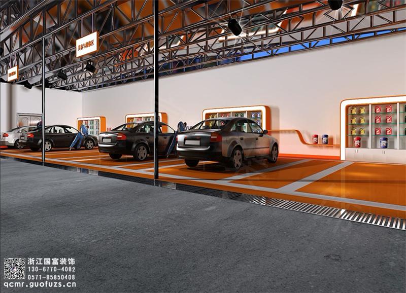 杭州汽车美容店装修公司