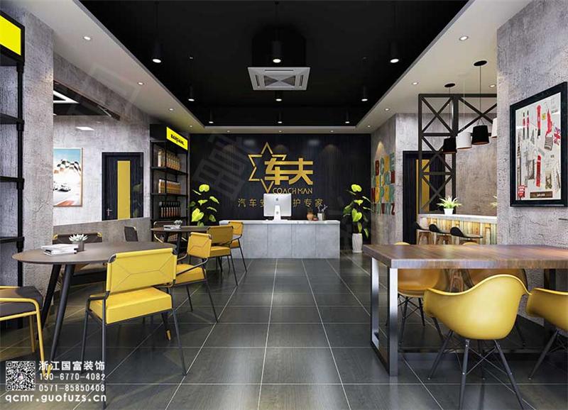 杭州汽车美容店设计